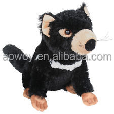20 cm plush Tasmanian Devil with custom logo stuffed animals ps012