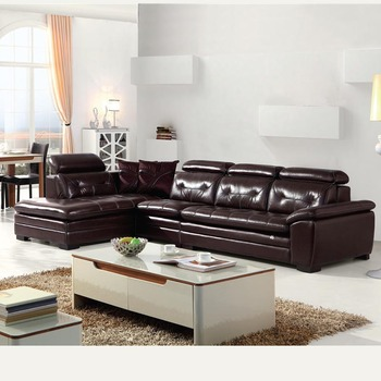 Small Size Import Leather Sofa