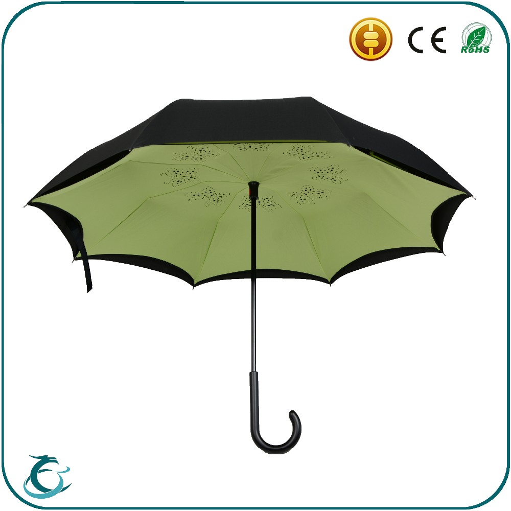 Shenzhen umbrella factory custo high quality new inventions umbrella in china