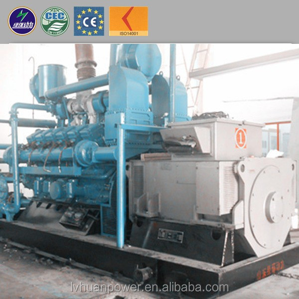 China generator supplier produced generator of 10-1000kw pyrolysis gas generator