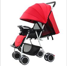 China reversible handle lightweight baby carriage pushchair baby stroller foldable