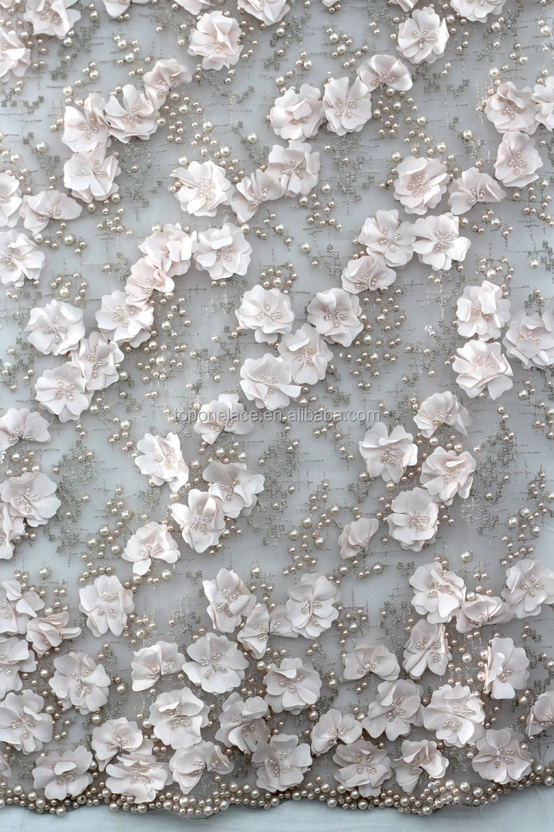 2016 3d Lace For Wedding Dresses/indian Embroidered Fabric Tulle ...