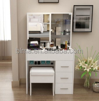 Simple Modern Wooden Dressing Table Designs For Bedroom