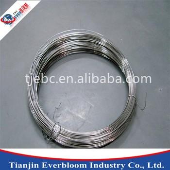 chine noir recuit fil de fer/4mm en acier doux galvanisé fil/haute