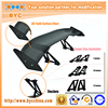 BYC Universal 3D Carbon Fiber Spoiler 152cm with 7 inch Aluminum Stands Racing Rear Spoiler