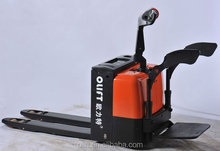 China factory price electric pallet truck with pedal,AC power warehouse equipment,reach truck