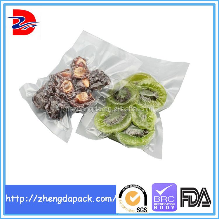 product packaging vacuum forming plastic packaging bag for dried <strong>food</strong>