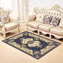 Современные ковры с цветочным принтом для гостиной, домашний скандинавский ковер, прикроватная тумбочка для спальни, мягкий ковер для учеб...(Китай)