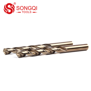 DIN338 M35 Cobalt Inch Twist Drill Bit with Three-flat Shank