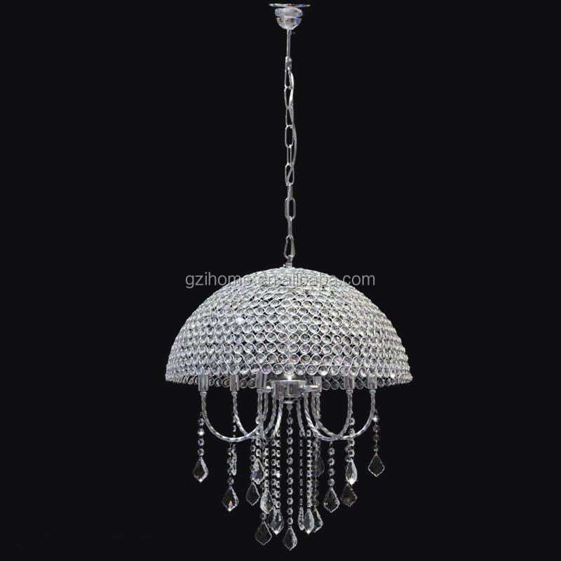 Led New Design Chandelier Big Led Crystal Ceiling Light For ...