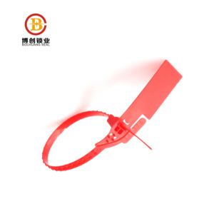 high security tamper indicative customized plastic seals with logo