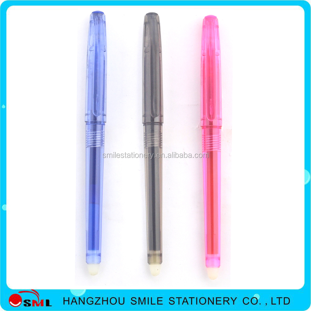 Normal Gel Pen's Ink Feature and Office School Pen Use Erasable ball pen