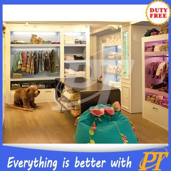 6bea8aab667c Clothing Shop Interior Design For Kids Lady Men Or Women - Buy ...