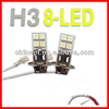 Made in china H3 5050 led lamp car head light