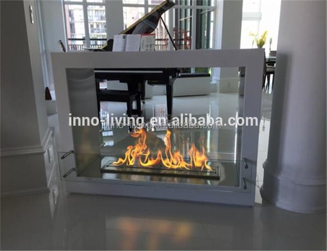 Source On Sale Bioetanol Fireplace Freestanding 2 Sided Modern