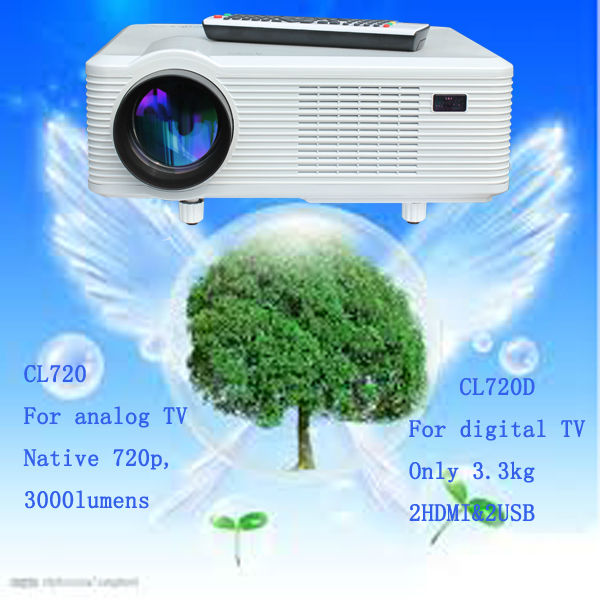 cheap mini 720p led projector/teilgeoir/proyector