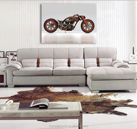 Retro Motorcycle design canvas wall art paintings for living room Modern canvas printing home decorative gift