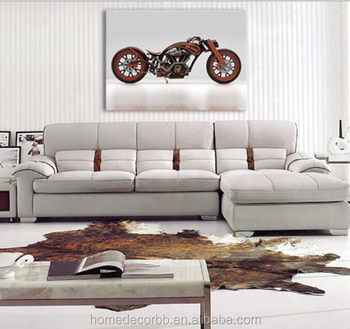 Retro Motorcycle Design Canvas Wall Art Paintings For Living Room Modern  Canvas Printing Home Decorative Gift - Buy Canvas Wall Art,Canvas ...