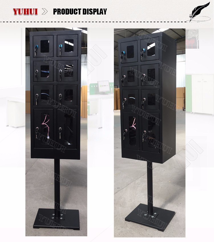 8 doors charging kiosk multi cell phone charging station kiosk buy charging kiosk cell phone. Black Bedroom Furniture Sets. Home Design Ideas