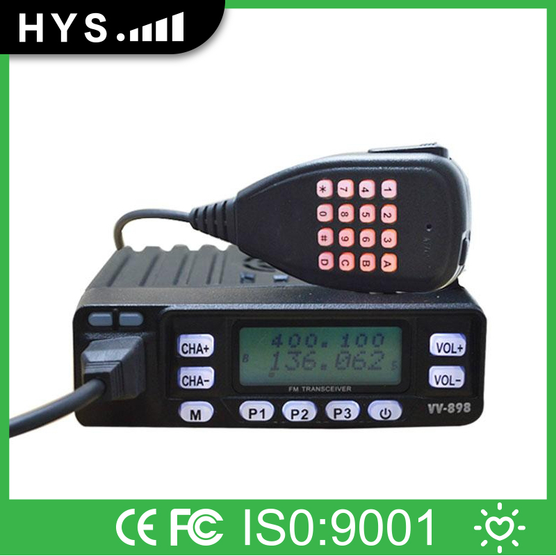 Mini 10W Dual Band Scanner Radio Receiver For Car