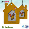 Factory direct sale house series design paper car air freshener