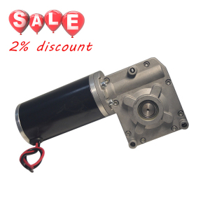 12/24V 10W 113W dc gear motor 50kg-cm with gear reduction
