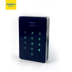 LED display card + password plastic access controller terminal