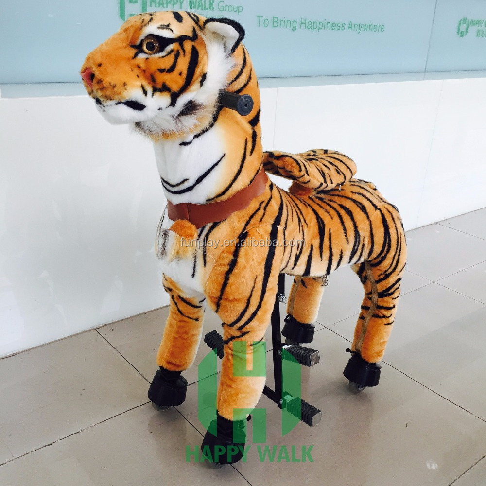 Factory Wholesale Adult Riding Tiger Horse Toy Mechanical Mechanical Ride  On Horse Riding Toy For Kids For Adults - Buy Riding Horse Toy,Mechanical