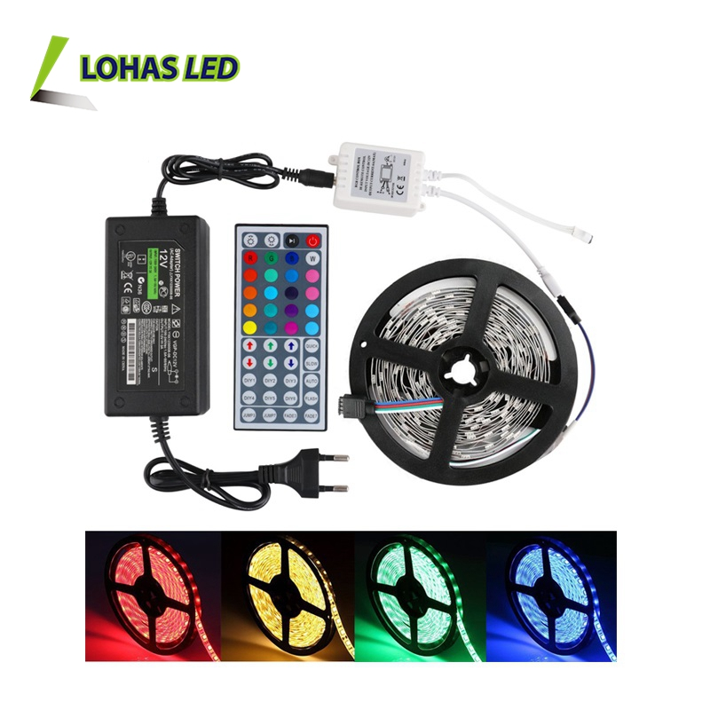 Hot Selling SMD 5050 2835 5630 60 leds/m 5m/roll IP65 Waterproof 12V flexible RGBW RGB LED Strip Light