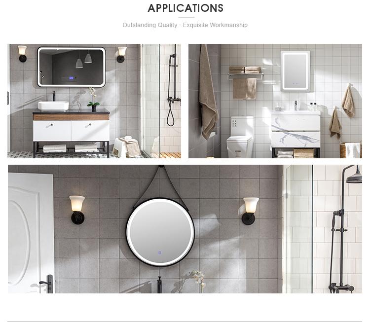 Hot-venda Moderna Casa de Banho Espelho de Parede Grande Espelho LEVOU