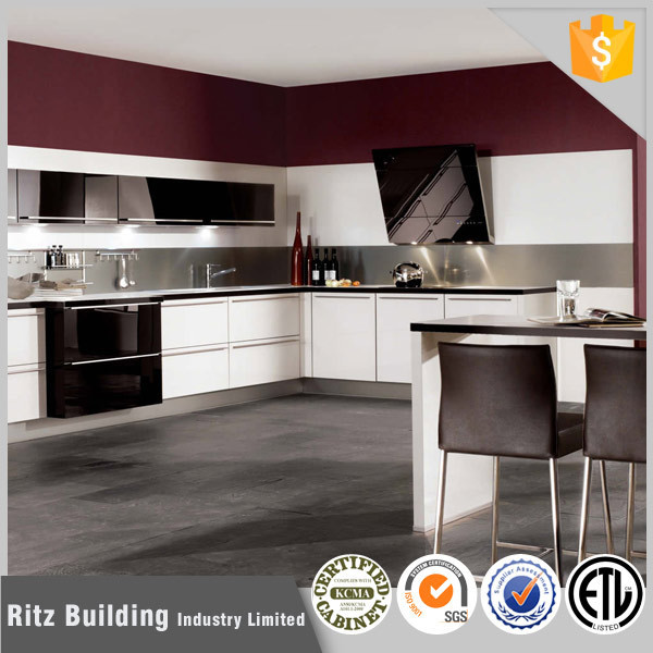 Ritz Free design modern lacquer kitchen cabinet unit