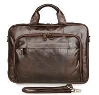 7334Q J.M.D Real Leather Men's Laptop Bag Desinger Handbag