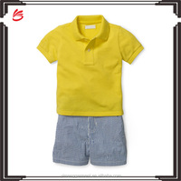 Basic mesh shirt seersucker shorts size 9-24 months infant clothing