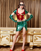 Europese en Amerikaanse sexy lingerie spel <span class=keywords><strong>uniform</strong></span> Halloween superman cosplay kostuum