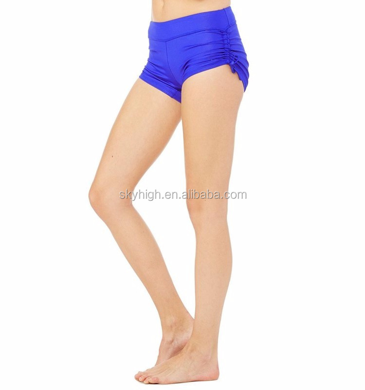 Athletic Apparel Manufacturer Ladies Compression Spandex Womens Wholesale Compression Shorts
