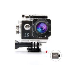 "Ultra Full HD 1080P 60FPS WiFi 2.0"" LCD Screen Sport Camera 170 Degree Wide 4K Waterproof Digital Video Camera + Extra Charger"