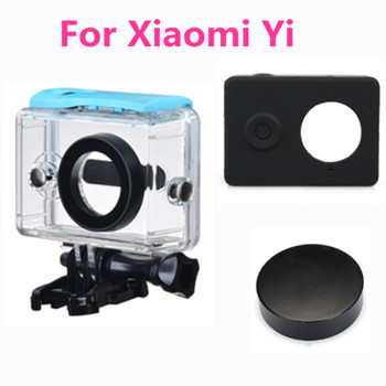 Xiaomi Yi Waterproof Case Mi Yi 40M Diving Sports Action Camera Lens Cap Silicone Case Waterproof Box for Xiaomi Yi Accessories