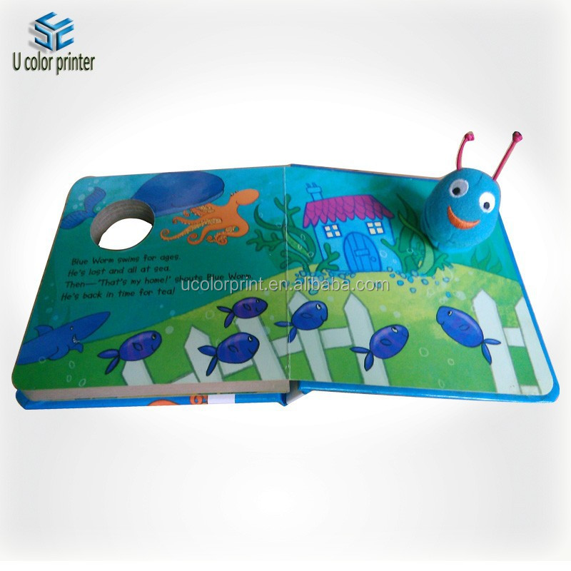 custom english learning children book made in china