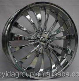 Hot selling with red line alloy car alloy wheels 5 hole F80011