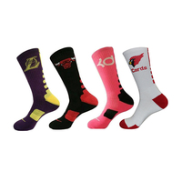 crew men sport socks custom logo cotton athletic sports cycling socks men gym workout terry sport sox crew man sock