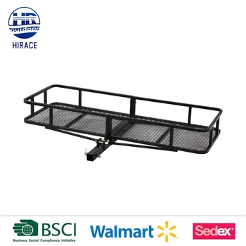 Trailer Hitch Luggage Rack Adorable Folding Luggage Rack Trailer Hitch Basket Buy Trailer Hitch Basket