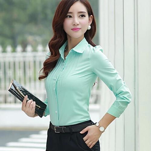 5b9a4aa1751fe7 Modas de blusas para oficina - Imagui