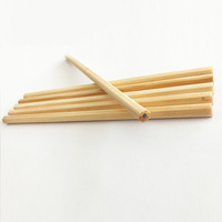 High Quality 7.5 inch Natural wooden HB pencil for Writing Drawing