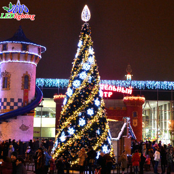 led unique design led spiral christmas tree giant outdoor commercial lighted - Outdoor Christmas Decorations Led Spiral Tree