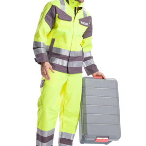 2018 custom unisex Anti-static Uniform work wear fire-fighting protection safty work set coverall clothes