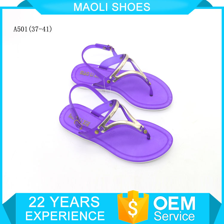 cdf80df952e Womens 2017 China Factory Pvc Ladies Sandals And Slippers - Buy ...