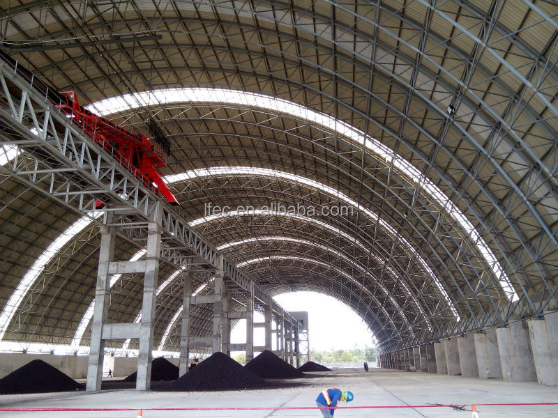 Attractive and durable Stainless steel Prefabricated Steel Roof Frame