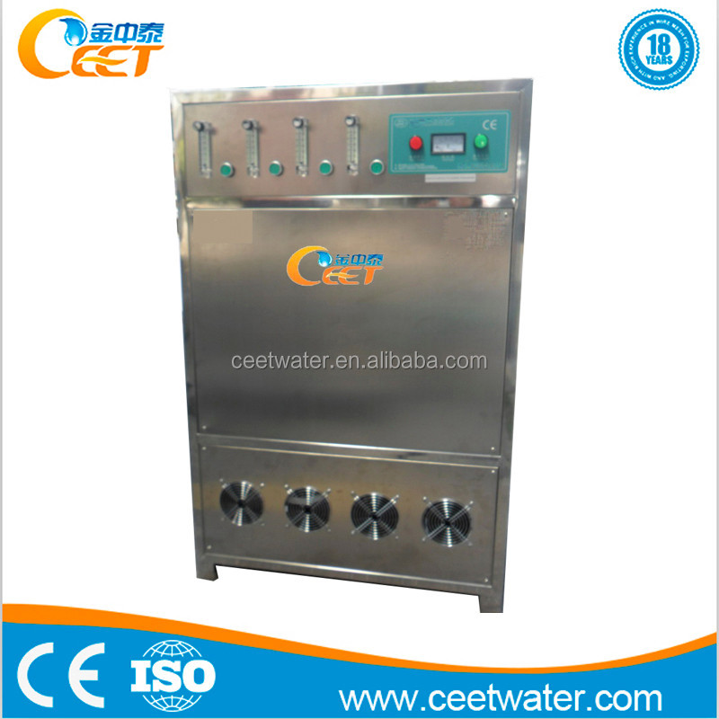 Quartz tube 0-KCT-300G Factory corona discharge ozone machine portable electric power for disinfection