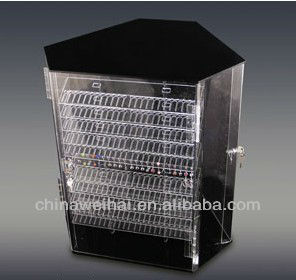 ACRYLIC TIARA TOWER DISPLAY STAND FREE LOGO OFFER