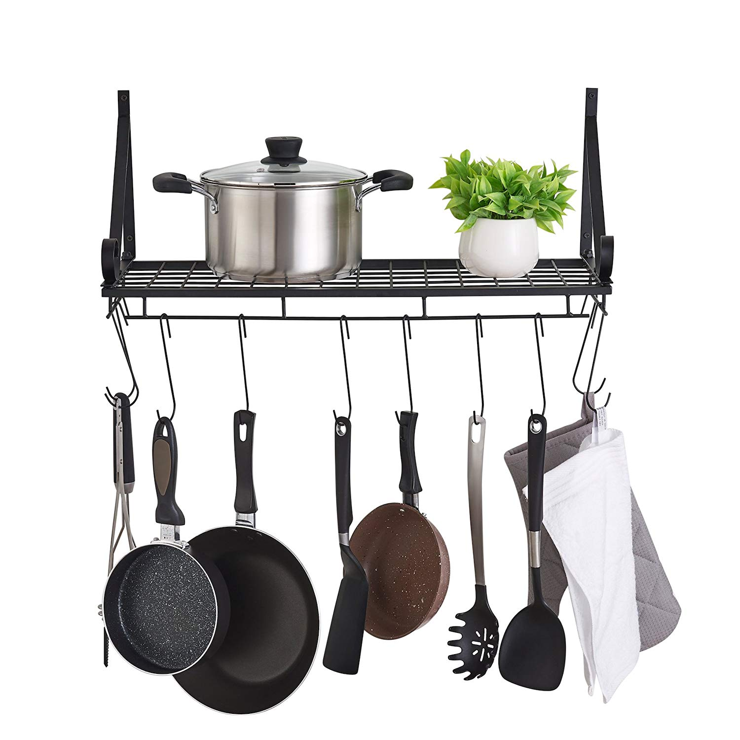 Wall Pot And Pan Rack Find